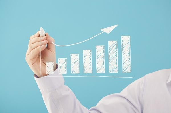 Bar chart business growth