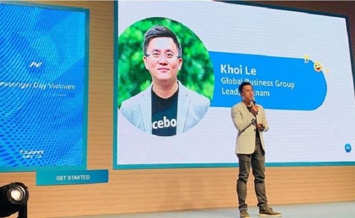 Ông Khôi Lê - Giám đốc phụ trách mảng Kinh doanh toàn cầu thị trưởng Việt Nam của Facebook