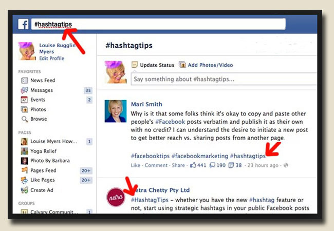 Hashtag có ý nghĩa gì cho bài viết Facebook 1