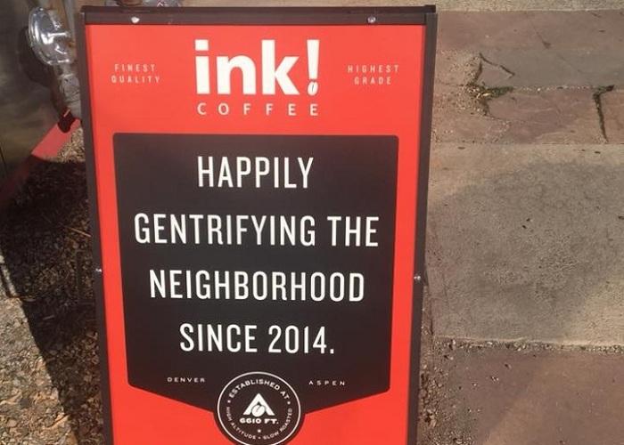 Quảng cáo của Ink Coffee