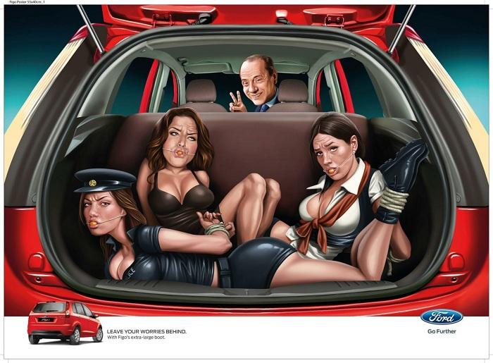 Quảng cáo phản cảm của Ford